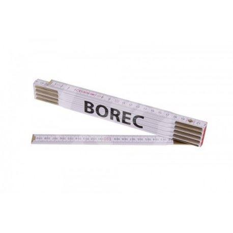 Skládací 2m BOREC (PROFI,bílý,dřevo)