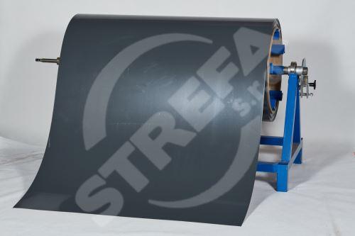 Pozinkovaný plech ve svitku 0,5 x 1250 mm, Antracitová (RAL 7016)