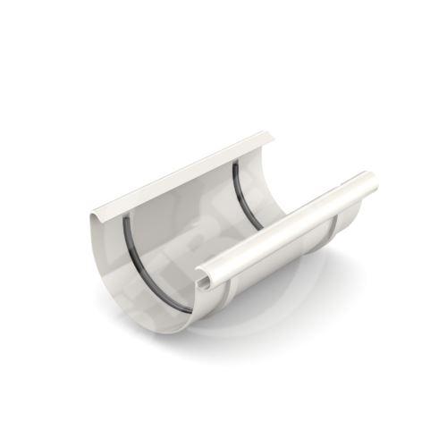 Spojka žlabu plastová Ø 75 mm, Bílá RAL 9010