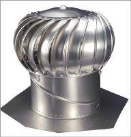 Ventilační turbína č. 12 Airhawk hliníková - přírodní