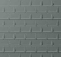 Střešní panel R.16, 700 x 420 mm stucco, Světle šedá P.10