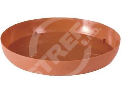 Miska PCE 13, cihlově červená (R624)