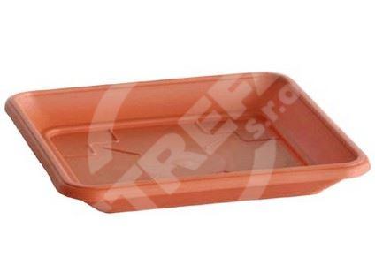 Miska PKWT 22, cihlově červená, 22x22 (R624)
