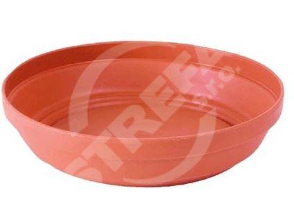 Miska Glinka 13 (R624), imitace hliněné misky, cihlově červený