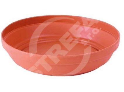 Miska Glinka 22 (R624), imitace hliněné misky, cihlově červený