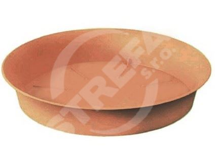 Miska Plastica 17, cihlově červená (R624)