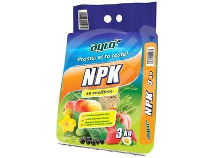 Hnojivo AGRO NPK se zeolitem 3kg