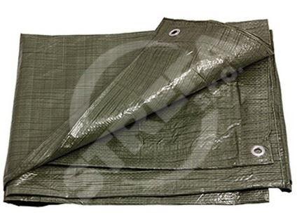 Plachta s oky 4x5m, zelená