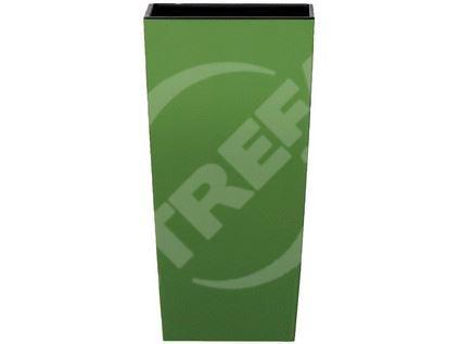 Obal URBI SQUARE zelená 14x14x26,5cm