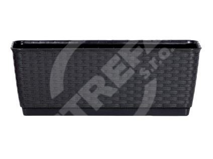 Truhlík RATOLLA antracit 38,6x15,4x14cm