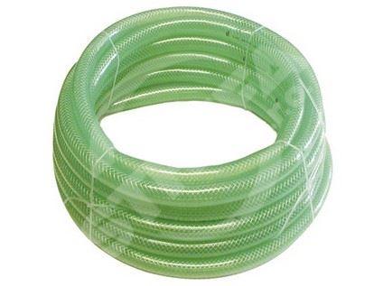 Hadice,transparentní zelená 1122 3/8 (50m)