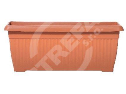 Truhlík Terra 70x30x28cm, 30l, cihlově červená