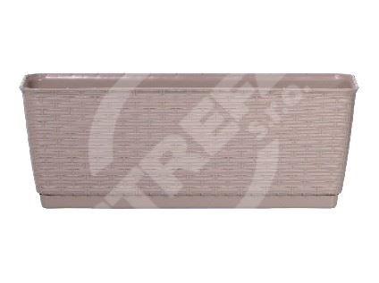 Truhlík RATOLLA béžová 38,6x15,4x14cm