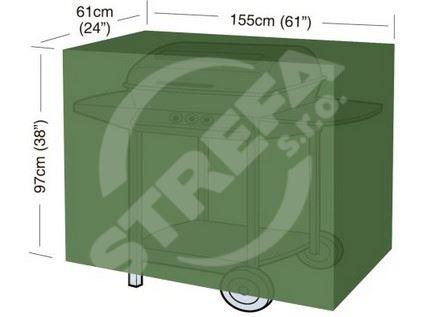 Krycí plachta na gril Classic (velikost L) 155x61x97cm (polyethylen)
