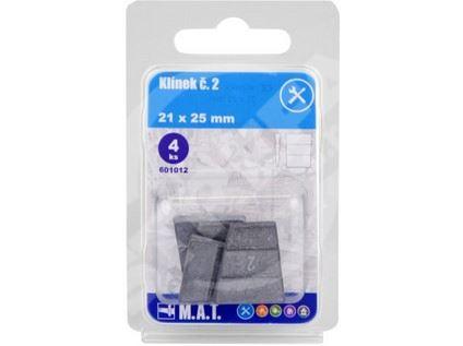 Klínek 21x25mm (4ks)