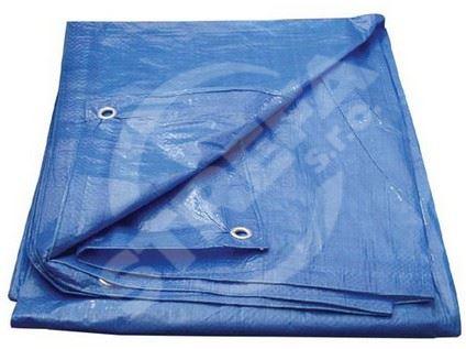 Plachta s oky 2x8m, modrá