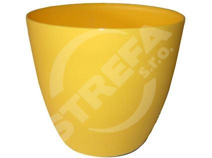 Obal ELLA žlutý průměr 11cm