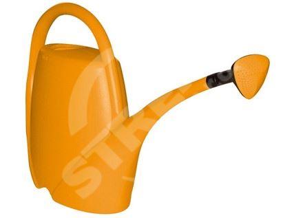 Konev plastová oranžová 13,5l s kropítkem