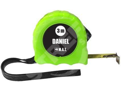 Metr stáčecí 3m DANIEL